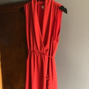 Red Wilfred Dress